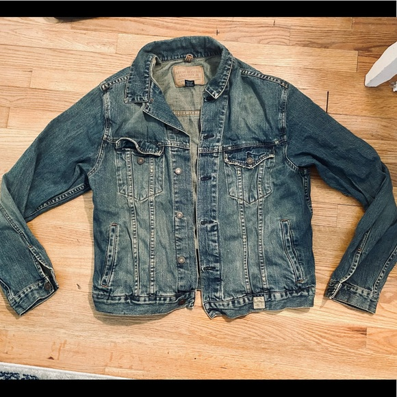 Abercrombie & Fitch Denim Jean Jacket XL